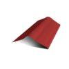 Коньковый элемент красный для ондулина