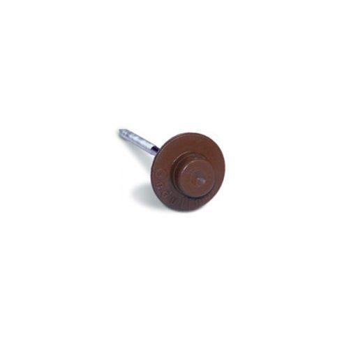 Ондулиновые гвозди (коричневые) с литой шляпкой