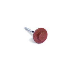 Ондулиновые гвозди (красные) с литой шляпкой