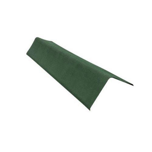 Коньковый элемент зеленый для ондулина